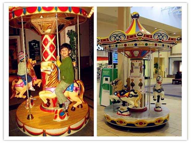 Small kiddie carousels for sale