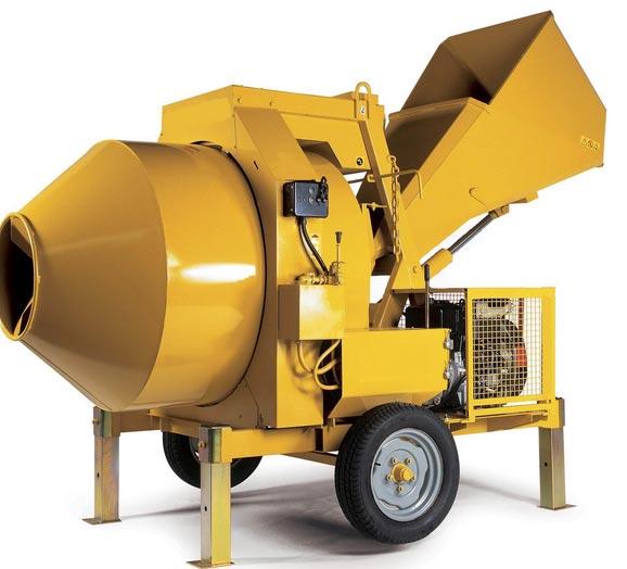 Reverse Concrete Mixer