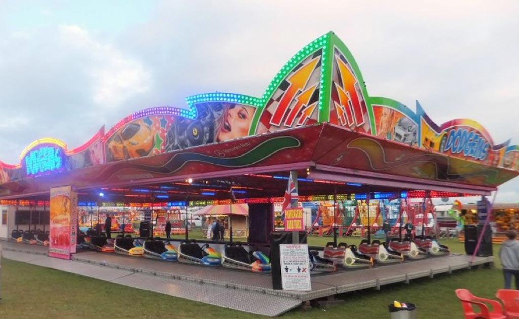 fairground dodgems