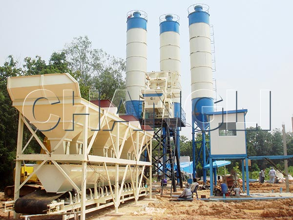 central mix concrete batching plant price