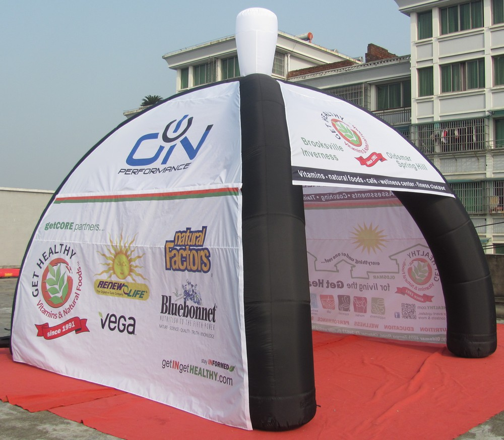 Buy inflatable advertising tent from Beston