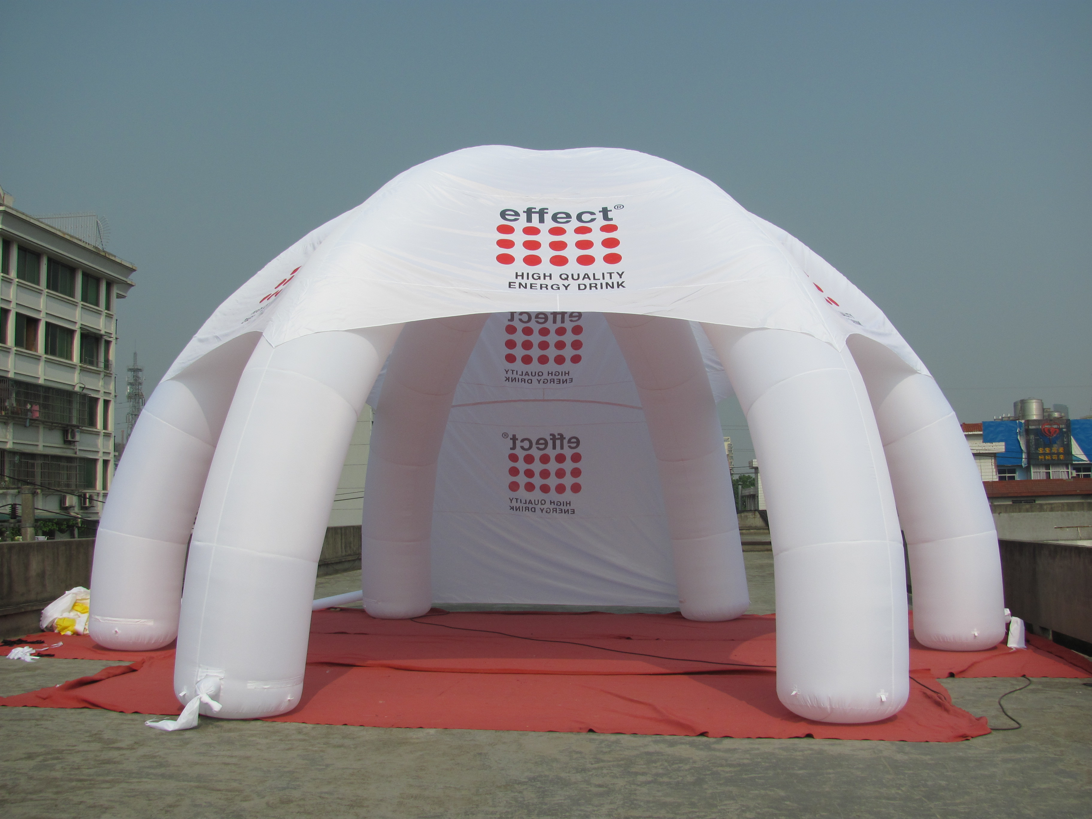 Inflatable advertising tent for sale