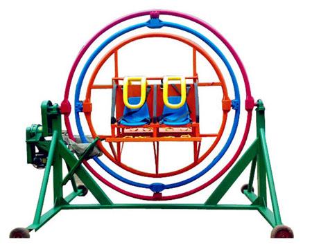 Human Gyroscope Rides