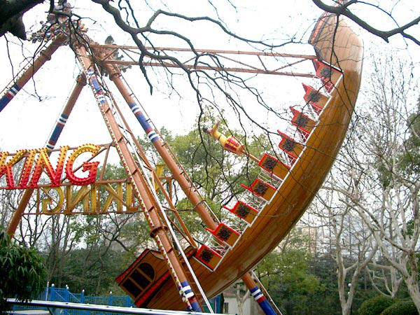 viking ship ride for sale