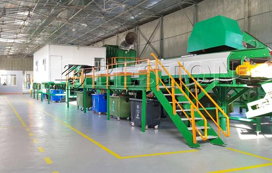 Beston Waste Sorting Machine Installed in Uzbekistan