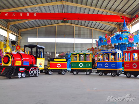 Trackless Train Amusement Rides Manufacturers
