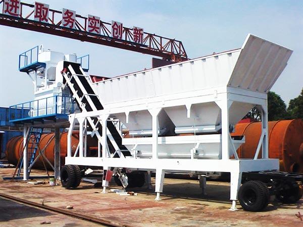 mini mobile concrete plant