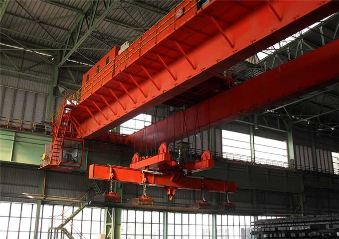 Request overhead crane magnetic electric