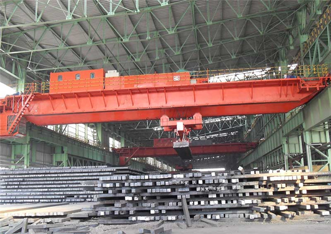 The quality of the magnetic overhead crane is high