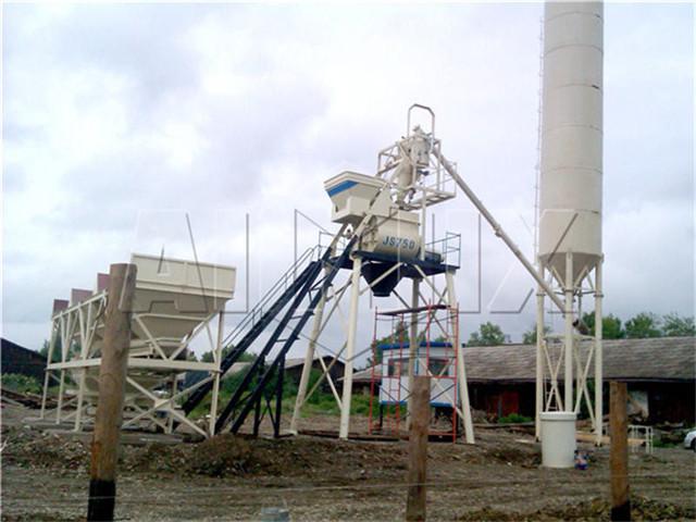 Mini Concrete Batching Plant Price
